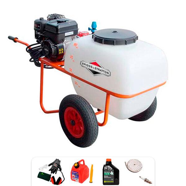 Carretilla sulfatadora B&S P100-2BS 127 cc 4 CV