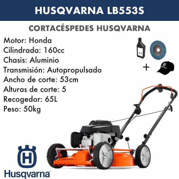Rasenmäher Husqvarna LB553S 160 CC