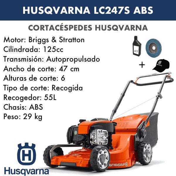 Cortacesped Husqvarna LC247S ABS