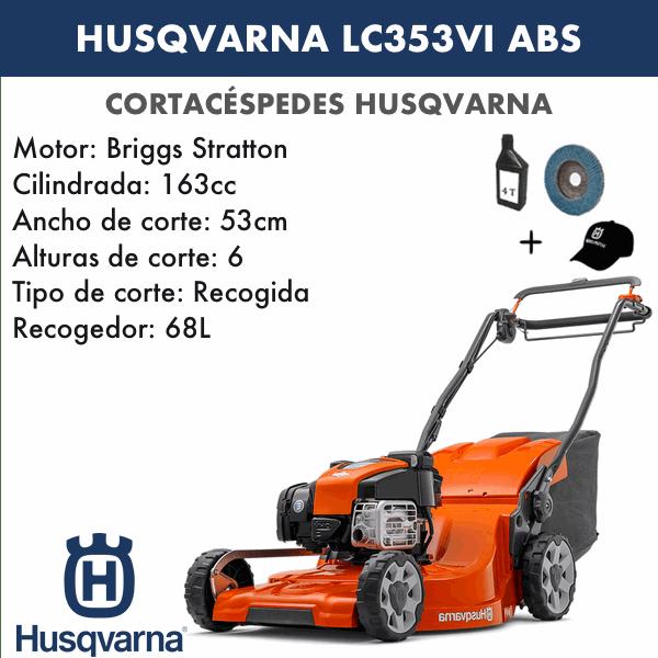 Husqvarna Cortacesped LC356V