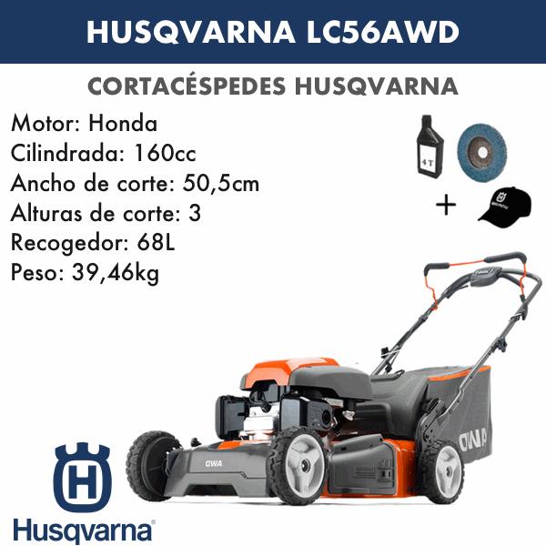 Rasenmäher Husqvarna LC356AWD 160 CC