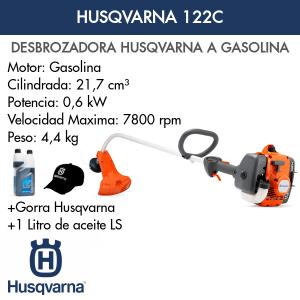 Desbrozadora Husqvarna 122C