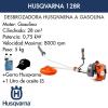 Desbrozadora Husqvarna 128R