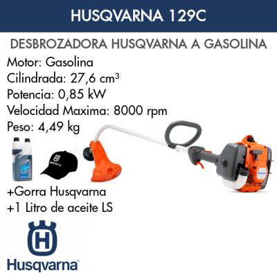 Desbrozadora Husqvarna 129C