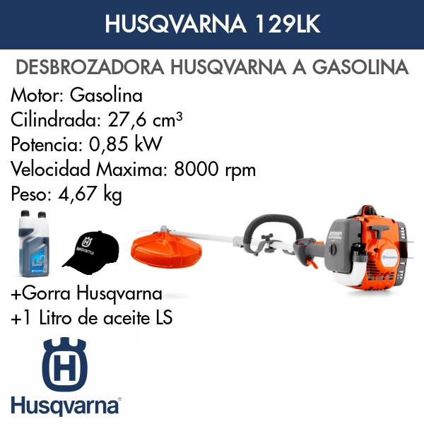 Desbrozadora Husqvarna 129LK