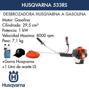 Desbrozadora Husqvarna 533RS
