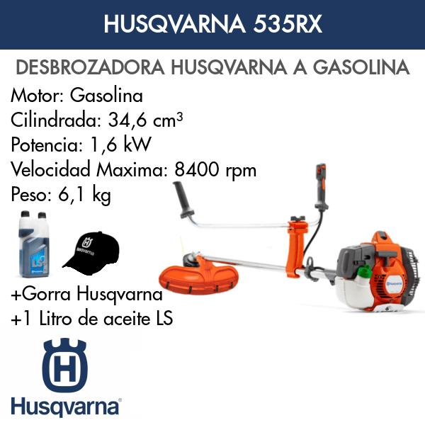 Desbrozadora Husqvarna 535RX