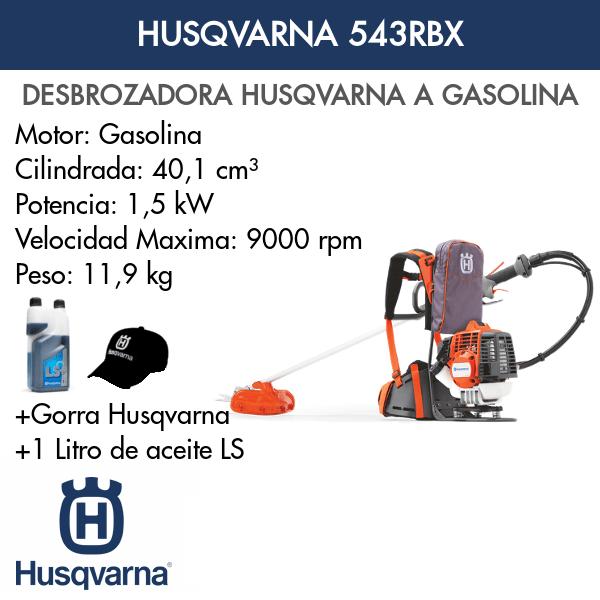 Desbrozadora Husqvarna 543RBX