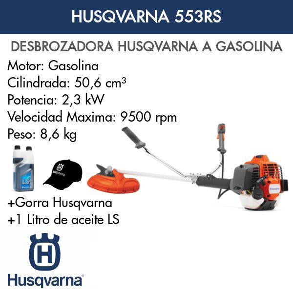 Desbrozadora Husqvarna 553RS