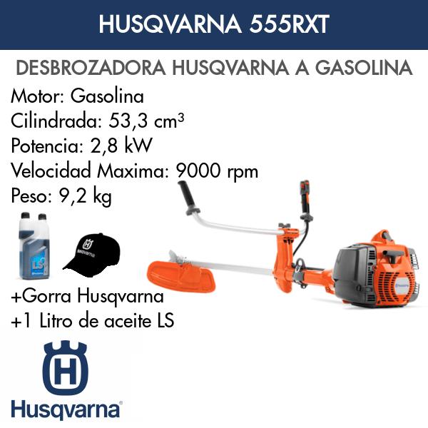 Desbrozadora Husqvarna 555RXT