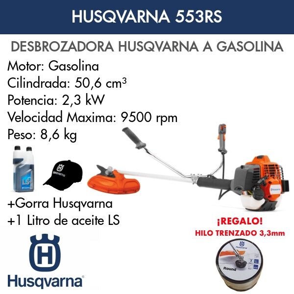 Desbrozadoras Husqvarna 553RS