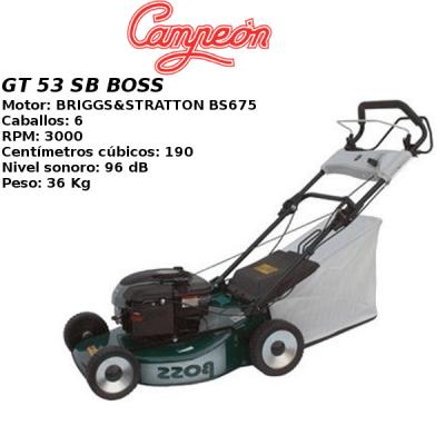Cortacesped Campeon GT 53 SB BOSS