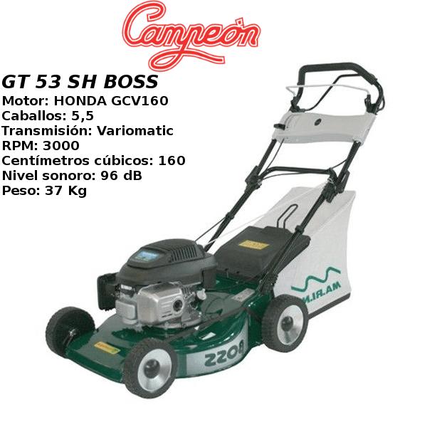 Cortacesped Campeon GT 53 SH BOSS