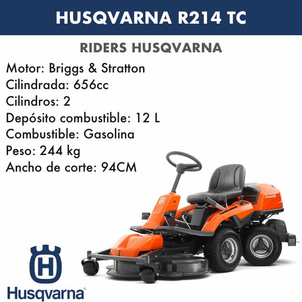 HUSQVARNA R 214TC