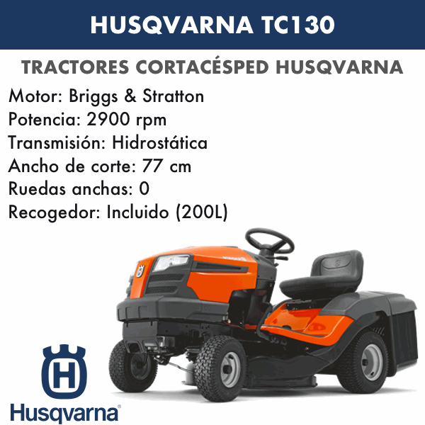 HUSQVARNA TC 130