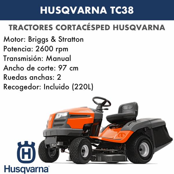 HUSQVARNA TC 38