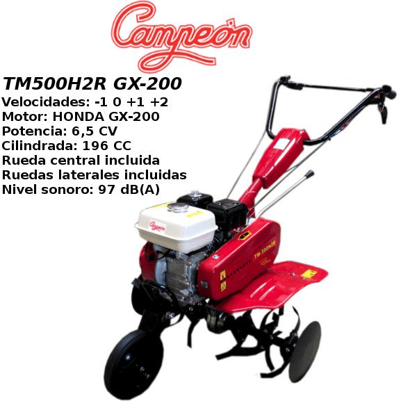 Motoazada Campeon TM500H2R GX-200