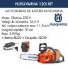 Motosierra De batería Husqvarna 120i Kit