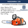 Motosierra De bateria Husqvarna 120i