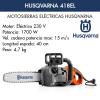 Motosierra Eléctrica Husqvarna 418 EL