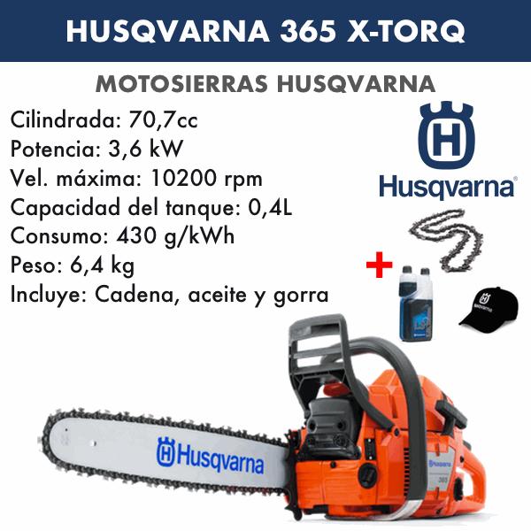 Motosierra Husqvarna 365 de 18