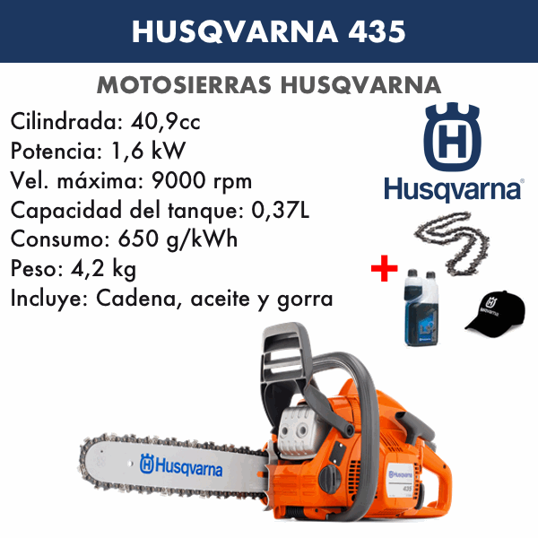 Motosierra Husqvarna 435