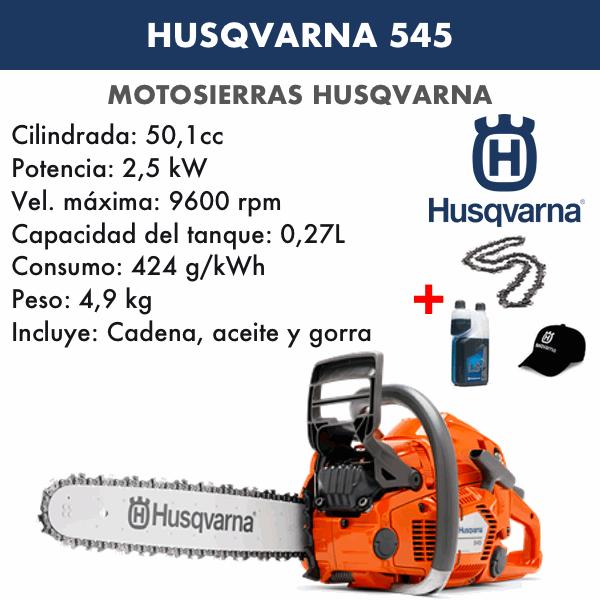 Motosierra Husqvarna 545 Autotune