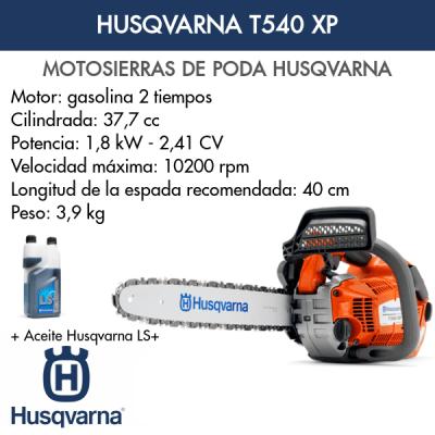 Motosierra Husqvarna T540 XP