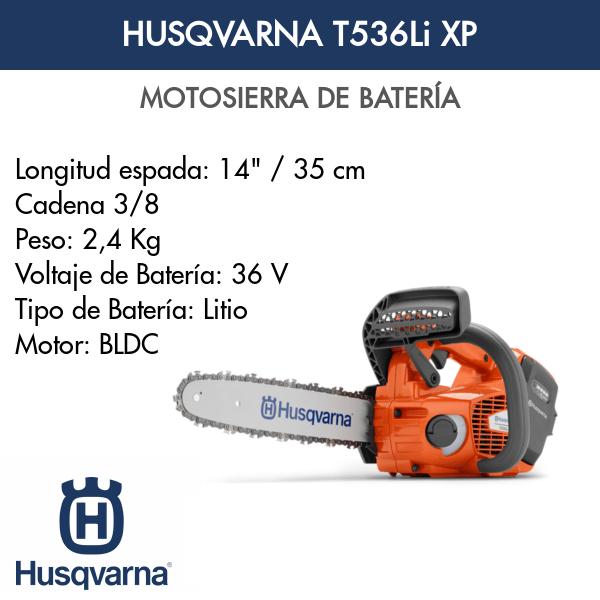 Motosierra de Batería T536Li XP
