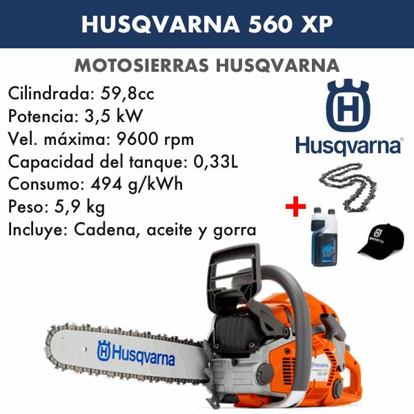 Motosierra husqvarna 560XP Autotune