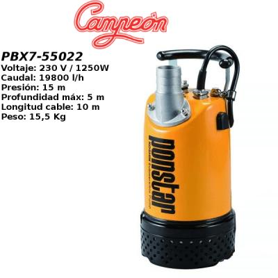 Bomba de agua Campeon PBX7-55022