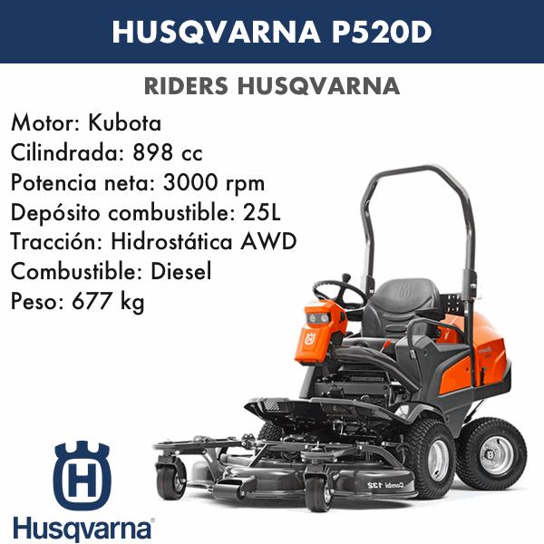 Rider Husqvarna P520D