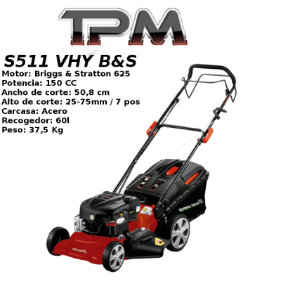 Cortacesped TPM S511 VHY B&S