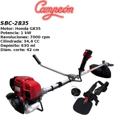 Desbrozadora Campeon SBC-2835