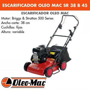 Escarificador Gasolina OLEO MAC SR 38 B45