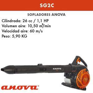 Soplador-aspirador gasolina Anova SG2C
