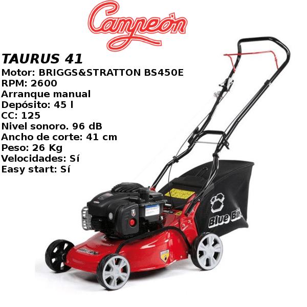 Cortacesped Campeon TAURUS 41