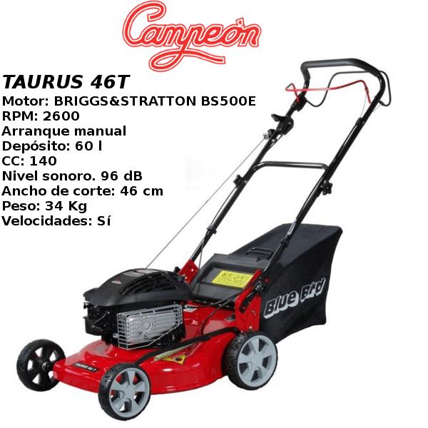 Cortacesped Campeon TAURUS 46T