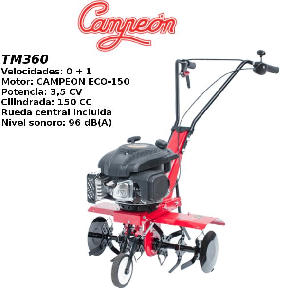 Motoazada Campeon TM360 mini