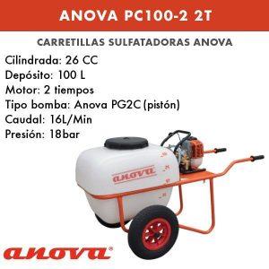 Carretilla sulfatadora Anova PC100-2 2T