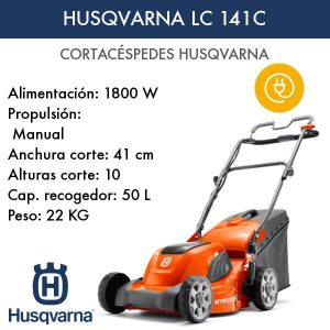 Cortacésped Husqvarna LC 141C