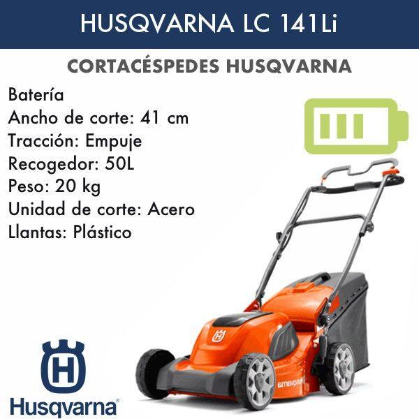 Cortacésped Husqvarna LC141Li