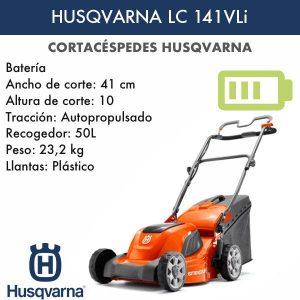 Cortacésped Husqvarna LC 141VLi