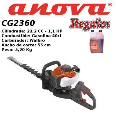 Cortasetos gasolina anova CG2360