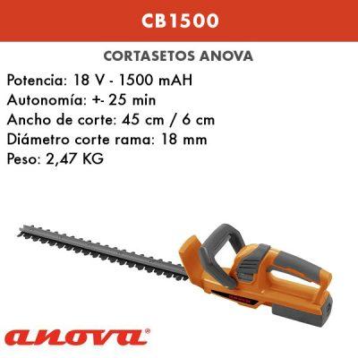 Cortasetos batería Anova CB1500