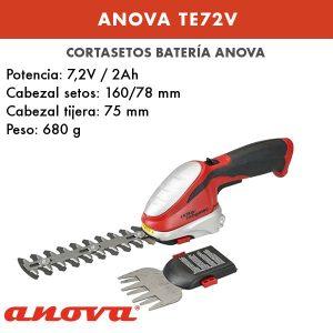 Cortasetos batería Anova TE72V