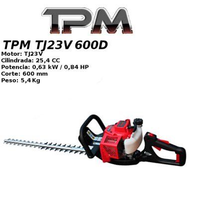 Cortasetos TPM TJ23V 600D
