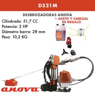 Desbrozadora Anova D521M