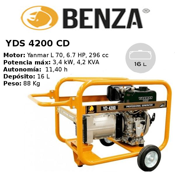 generador-benza-YDS4200CD