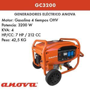 Generador electrico Anova GC3200